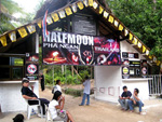 entrance to halfmoon party